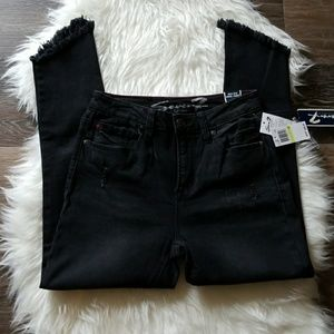 Seven7 High Rise Ankle Skinny Jeans sz 4